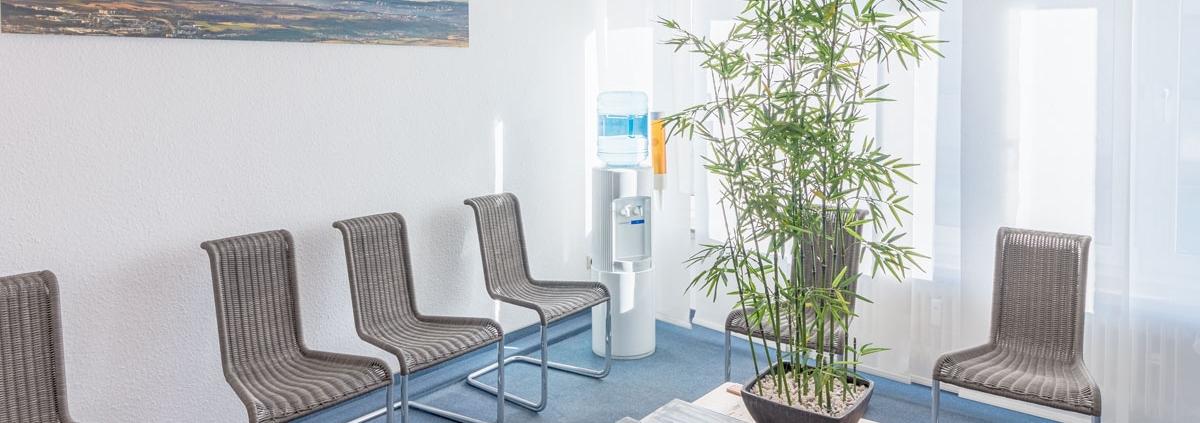 Wartezimmer Gemeinschaftspraxis Dr Rausch Dr Gaenslen